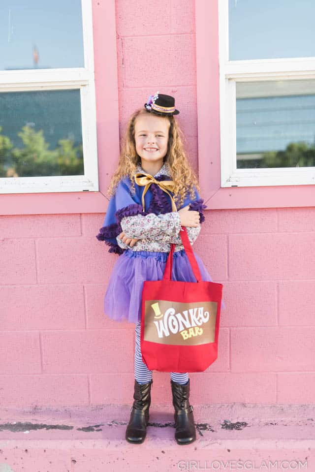 Wonka Bar Trick or Treat Bag