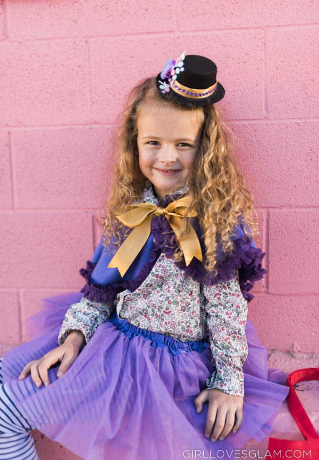 Girl's Willy Wonka Costume Tutorial