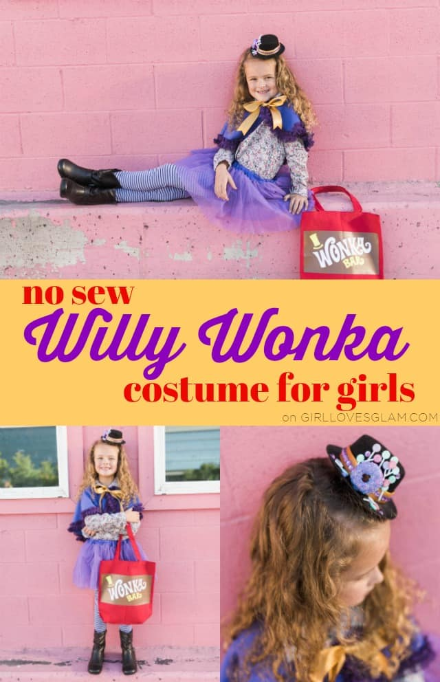 Willy Wonka Costume for Girls