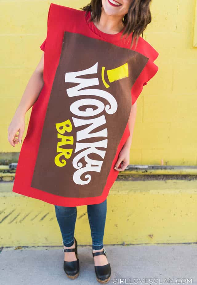 Wonka Chocolate Bar Costume