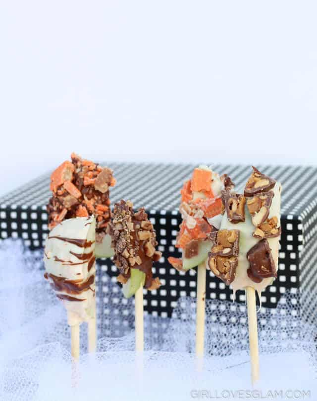 Chocolate Dipped Apple Pops
