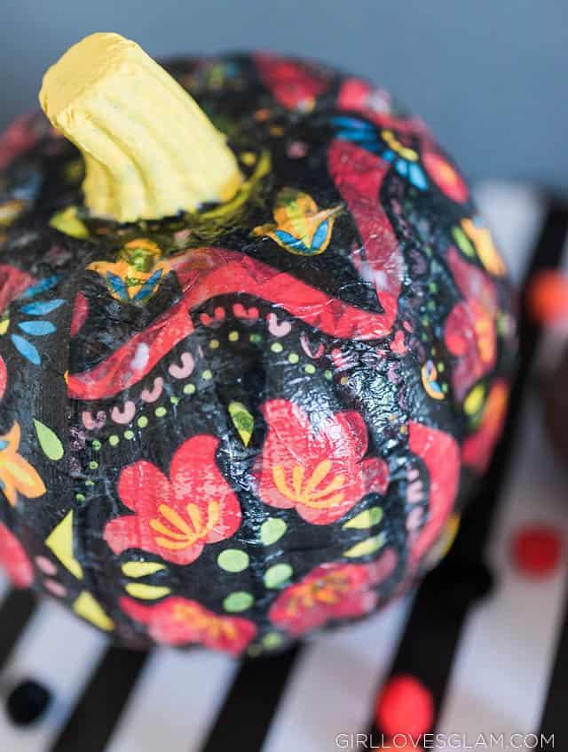 Flower Pumpkin for Halloween