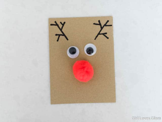 Reindeer Christmas Kid Craft