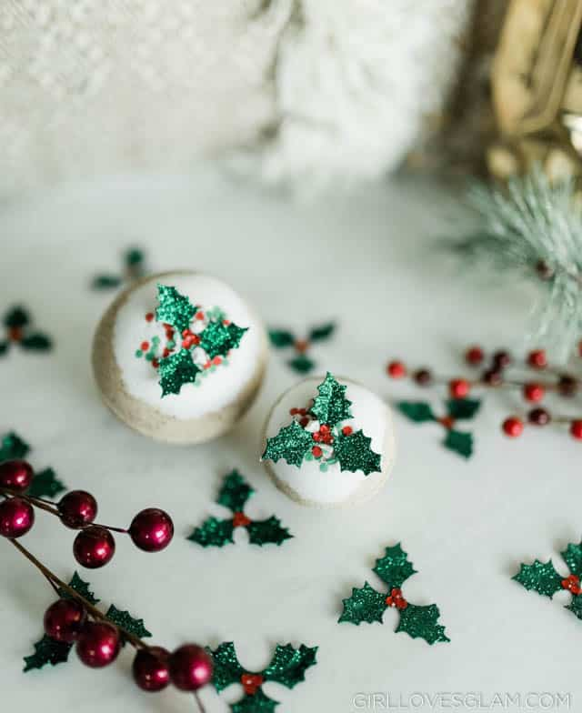 Christmas Gingerbread Bath Bombs