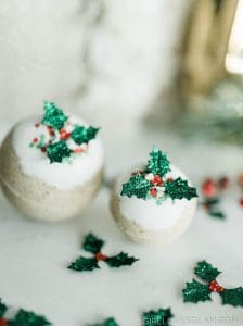 Gingerbread Bath Bombs