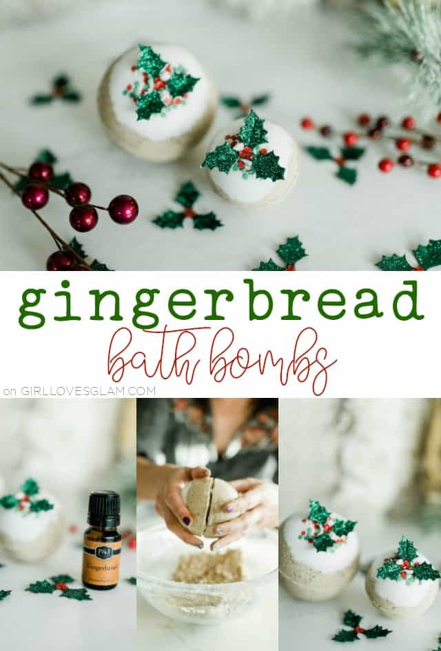 How to Make Gingerbread Bath Bombs