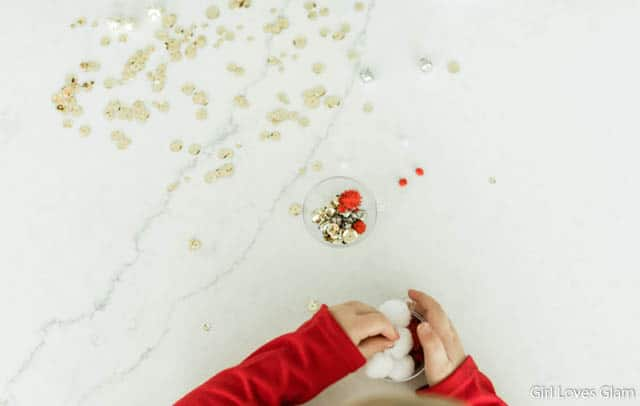 Toddler Sensory Christmas Craft