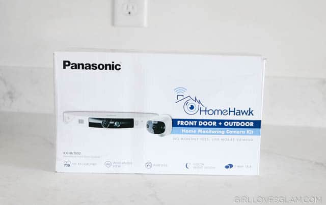 Panasonic HomeHawk on www.girllovesglam.com