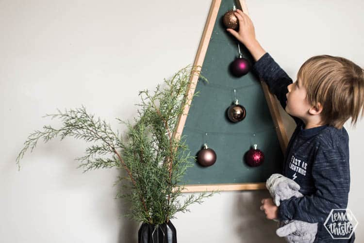 Modern Christmas Ornament Hanger