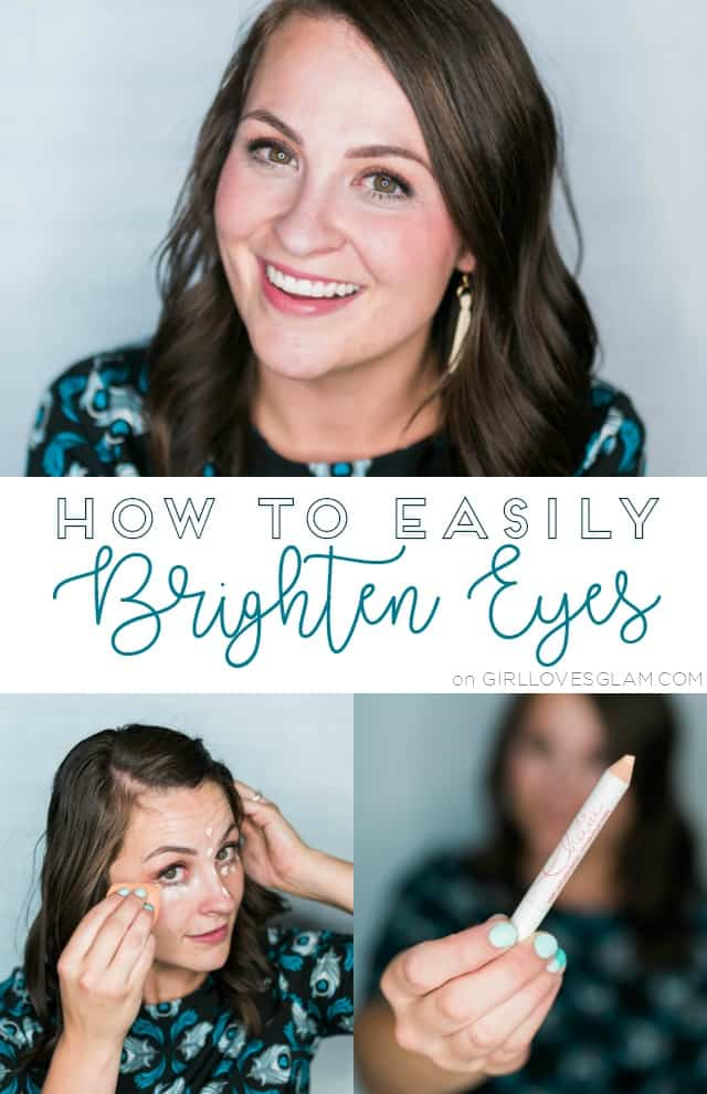 How to Brighten Eyes on www.girllovesglam.com