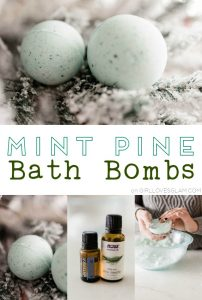 Mint Pine Bath Bombs on www.girllovesglam.com