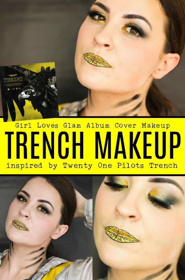Twenty One Pilots Trench Inspired Makeup on www.girllovesglam.com