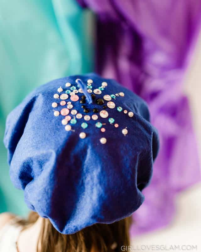 Beret Decorating Activity Art Birthday Party