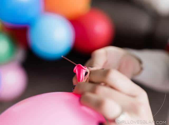 Stringing Balloons
