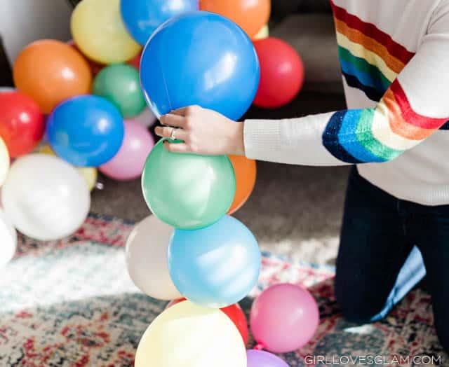 Homemade Balloon Arch