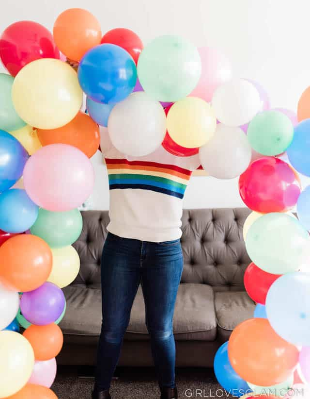 How to Make Your Own Balloon Arch