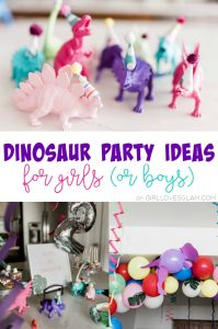 Dinosaur Party Ideas for Girls
