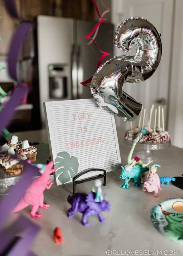 Girl Dinosaur Party
