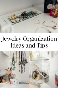 Jewelry Organization Ideas and Tips