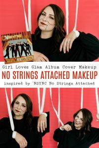 NSYNC No Strings Attached Inspired Puppet Makeup