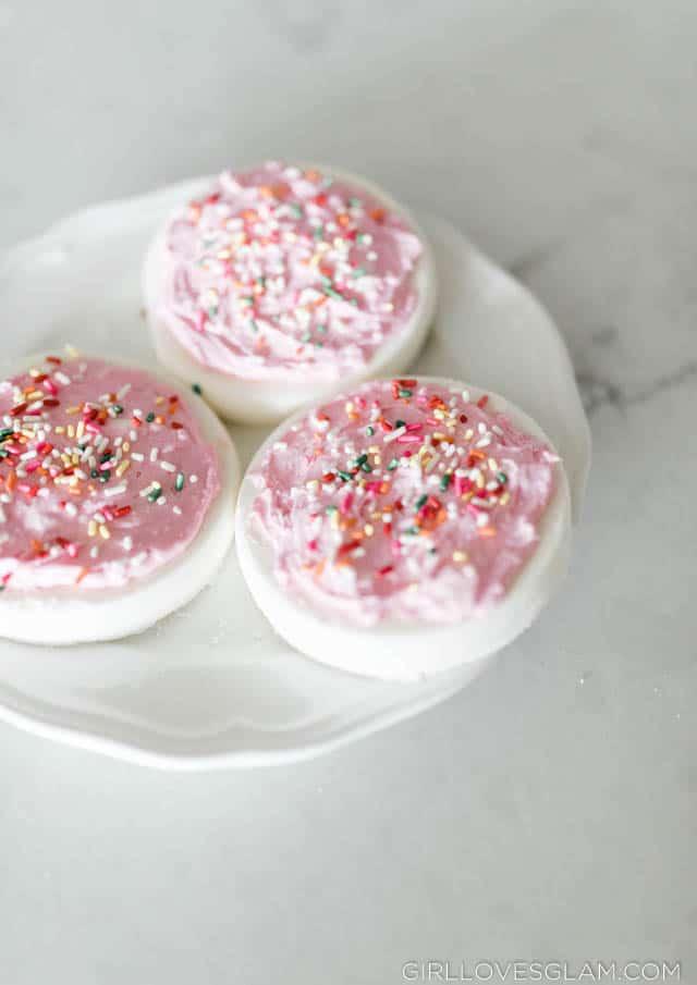 Sugar Cookie Bath Bombs