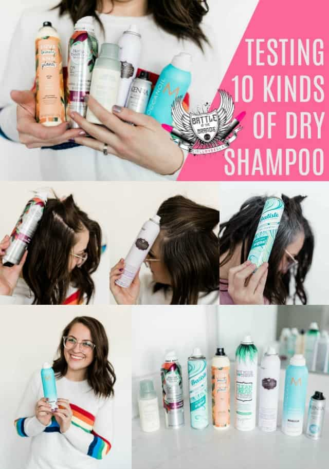 Dry Shampoo Review Battle