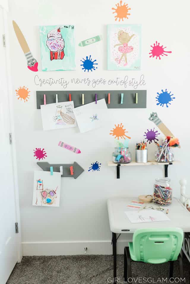 Craft Station for Kids