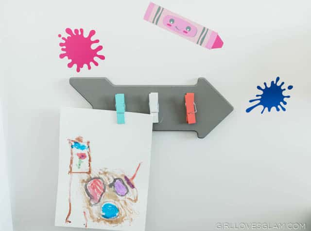 Kids Art Display Clipboard