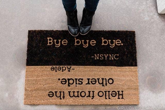 NSYNC Door Mat