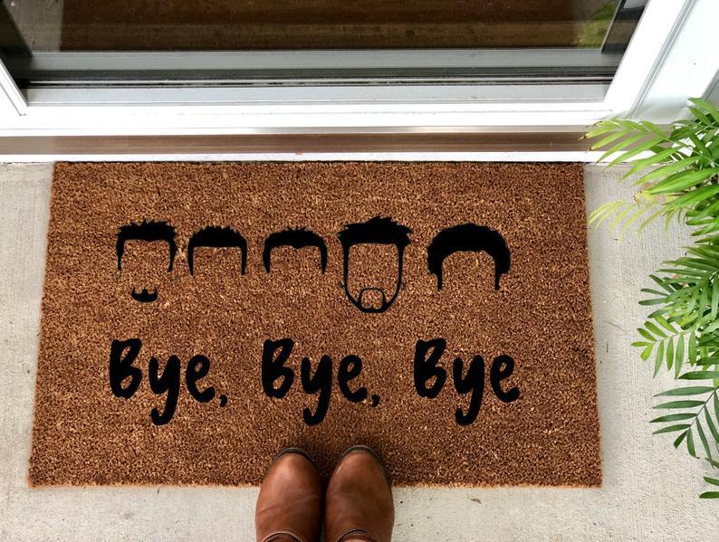 NSYNC Door Mat Bye Bye Bye