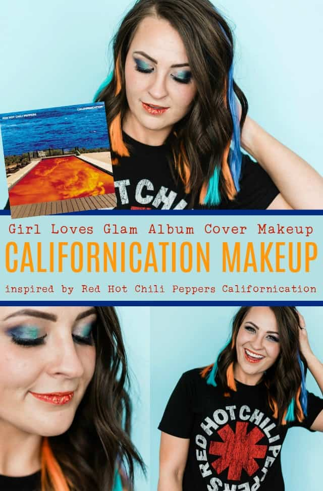 Red Hot Chili Peppers Makeup