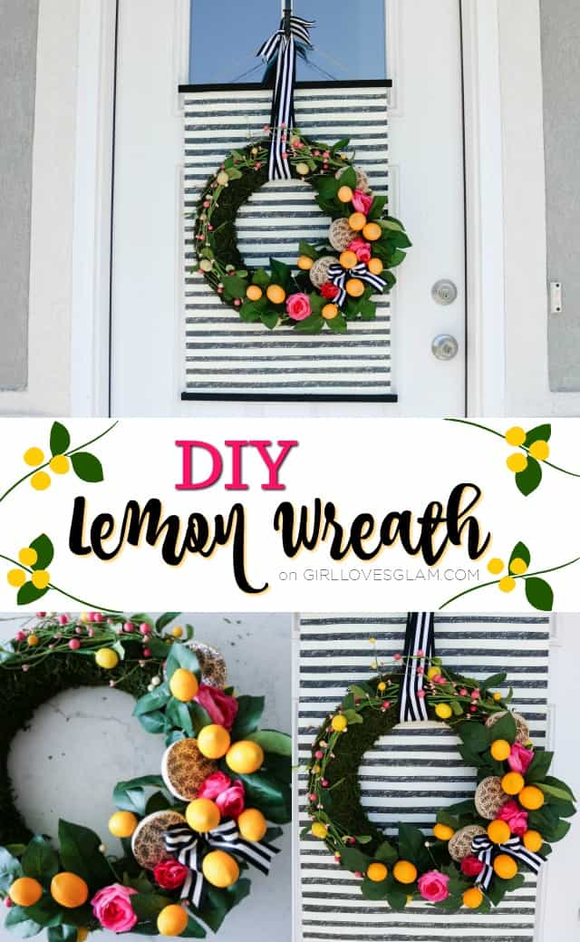 DIY Lemon Wreath