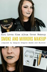 Imagine Dragons Smoke and Mirrors Makeup