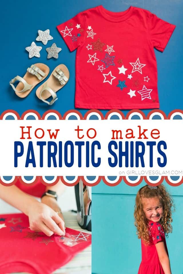 How to make patriotic shirts