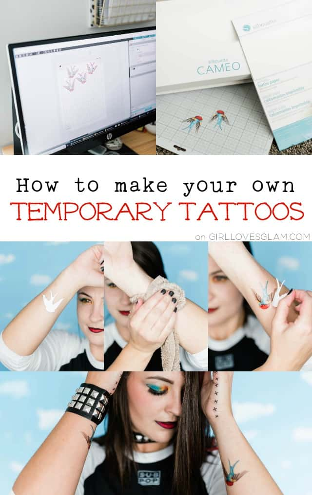 How to make your own temporary tattoos