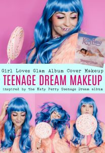 Katy Perry Teenage Dream Album Cover Makeup