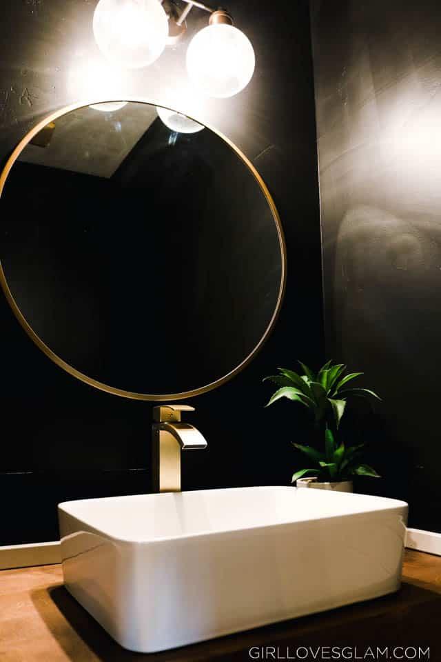 Gorgeous Half Bathroom Reveal