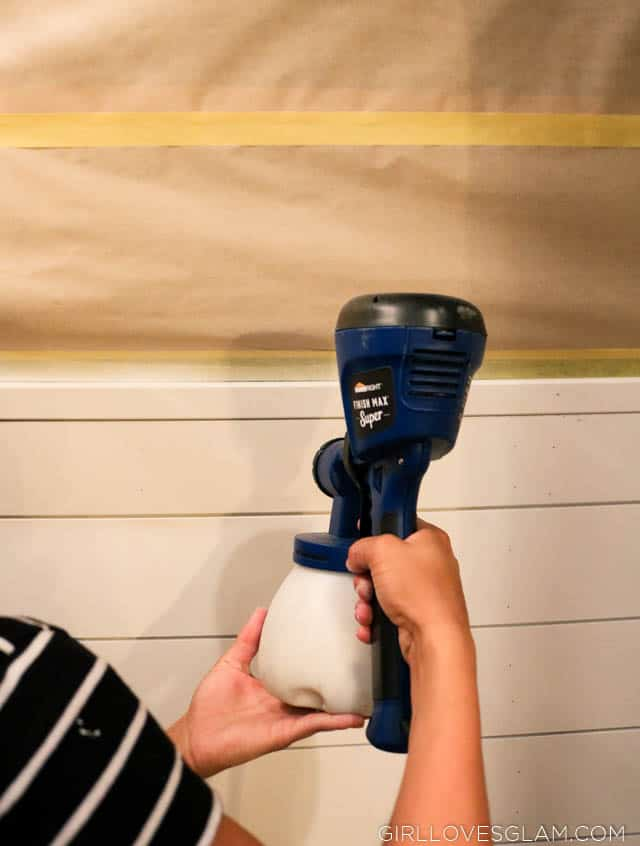 Using a Paint Sprayer indoors