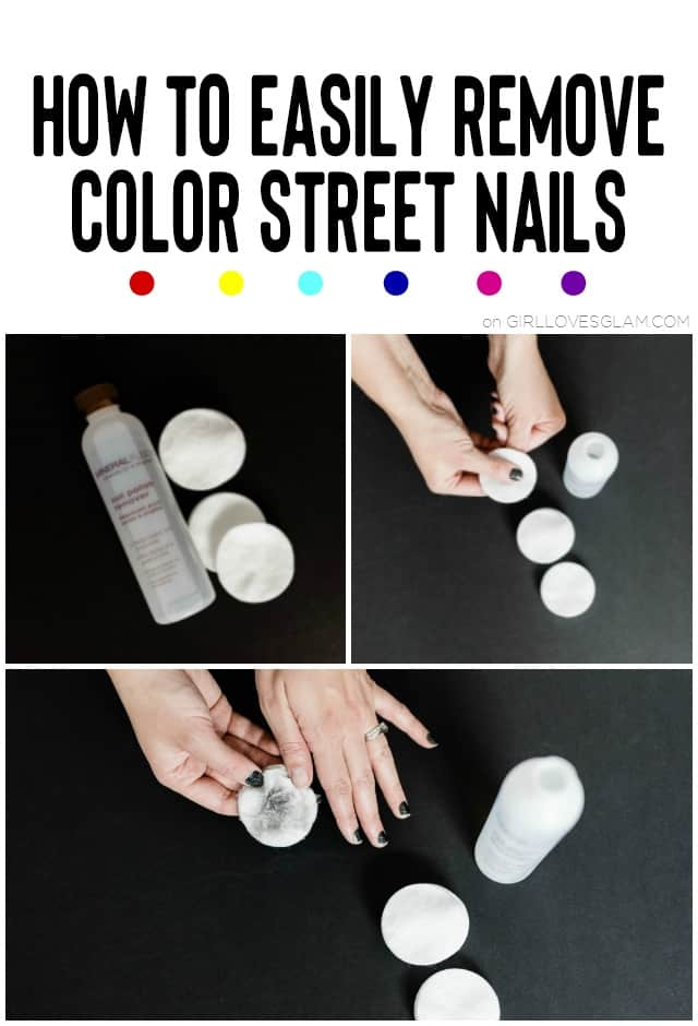 How To Remove Color Street Nails Tips From A Color Street Independent Stylist Girl Loves Glam