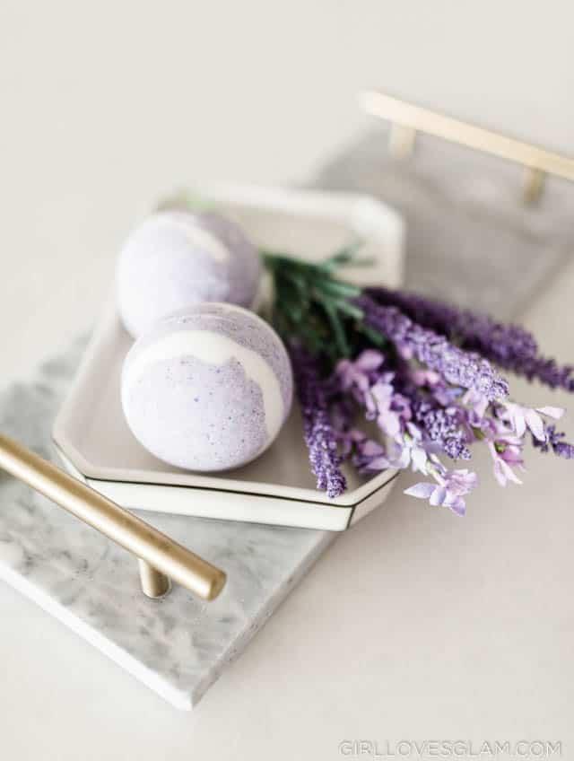 Lavender Vanilla Bath Bomb