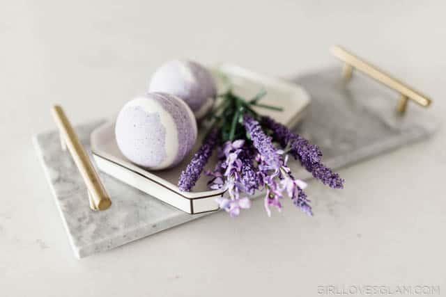 Lavender Vanilla Bath Bomb Recipe