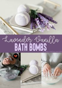 How to Make Lavender Vanilla Bath Bombs