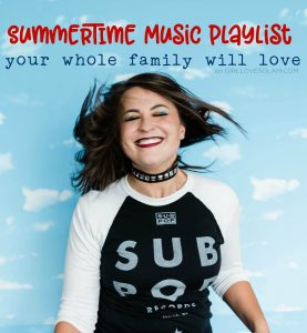 Summer Music Playlist for Families