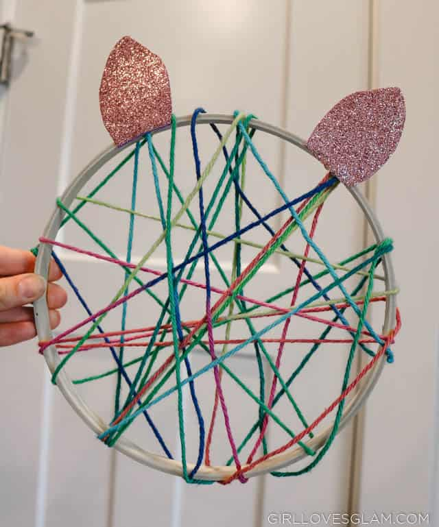Kids Dreamcatcher craft