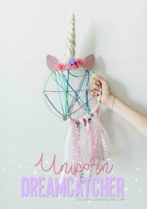 Unicorn Dreamcatcher Unicorn Craft