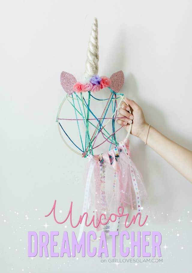Unicorn Dreamcatcher Unicorn Craft