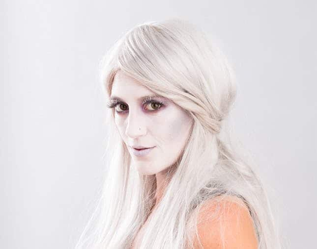 Gorgeous Ghost Makeup