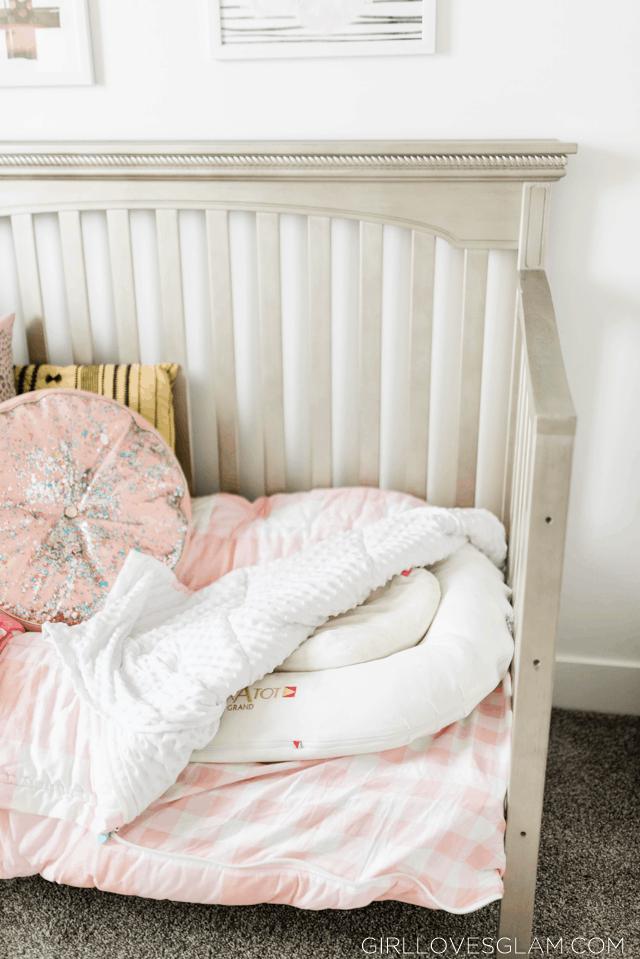 Beddy's pink plaid bedding