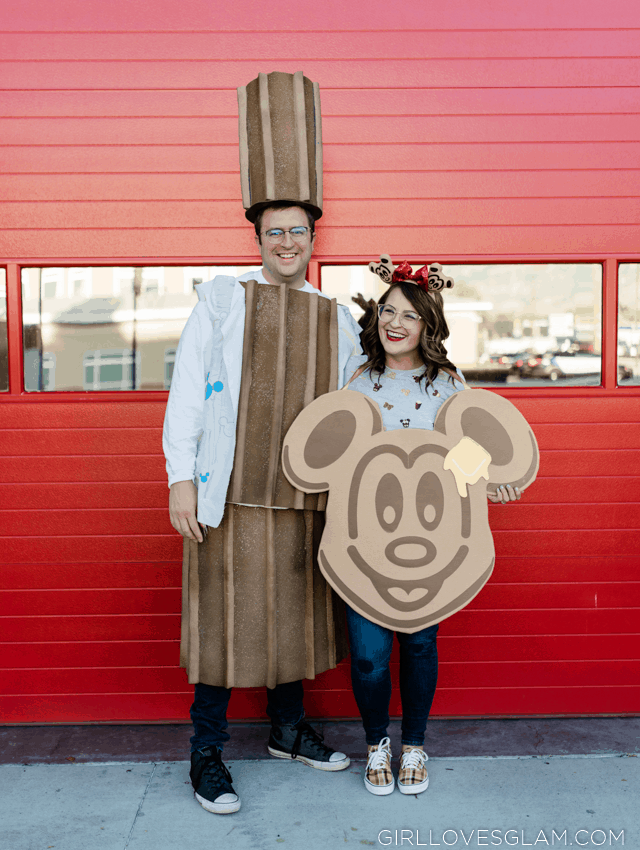 Disneyland Churro and Mickey Waffle Costume