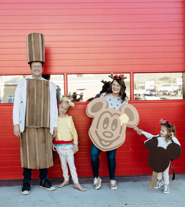 Disneyland Food Family Costume